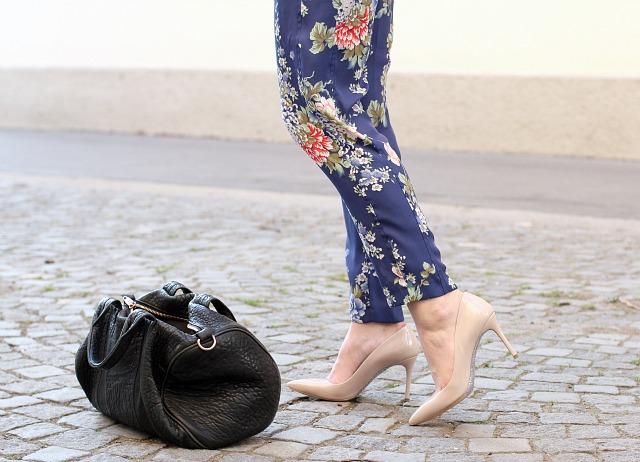 Flower pants for summer