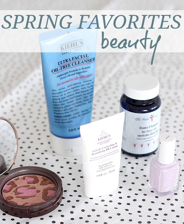 springtime favorites - beauty
