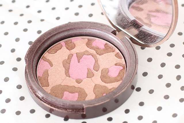 "Too Faced ""pink leopard"" bronzer"