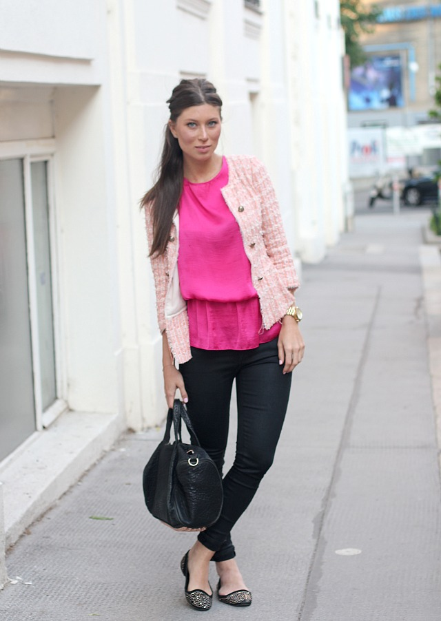 OUTFIT: wearing pink on pink