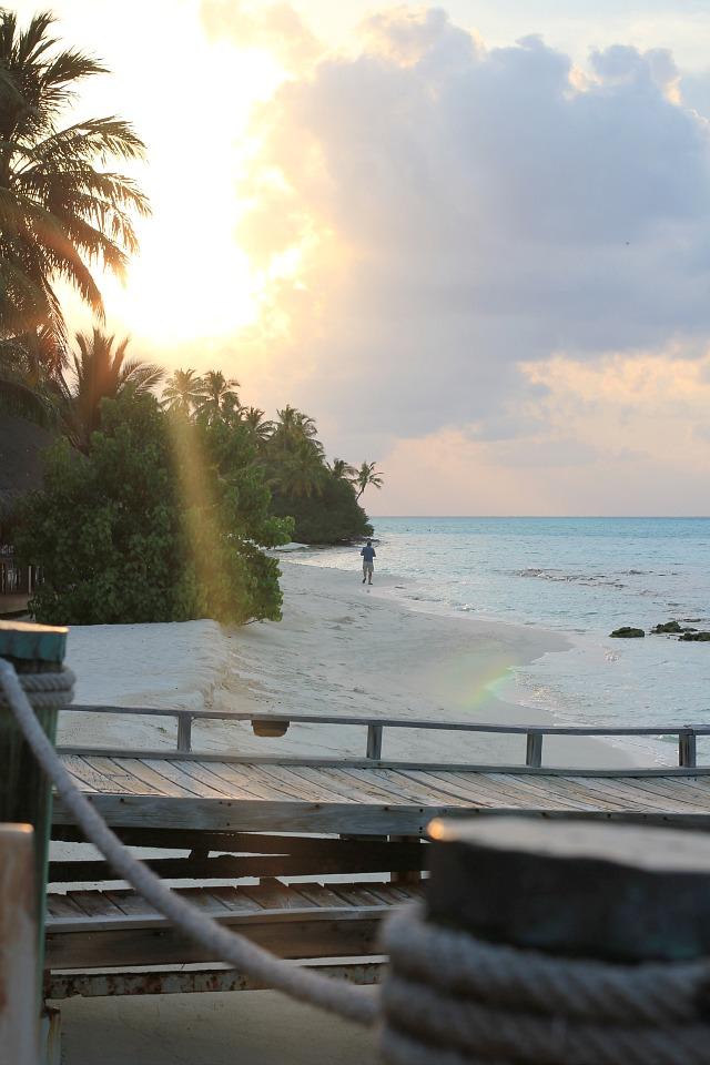 sunset at Kuramathi Island - Maldives