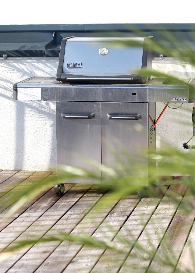 outdoor living rooftop deck weber bbq
