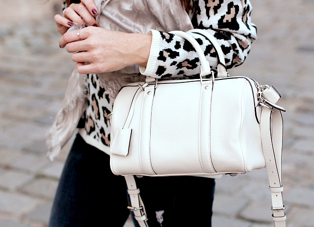 "Outfit: Louis Vuitton ""Sofia Coppola bag BB"" in blanc casse"