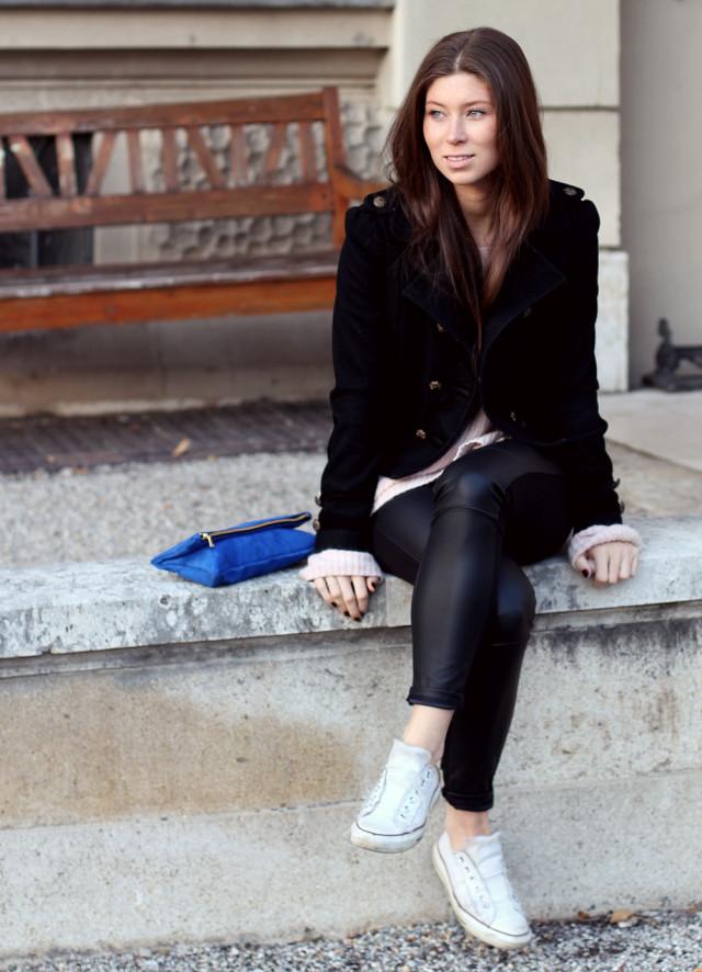 Victoria Khoss foldover clutch NYC
