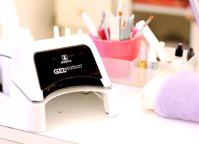GELeration pedicure by Jessica Cosmetics
