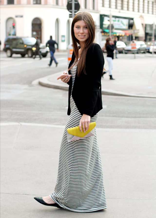 OUTFIT: stripes & pastels