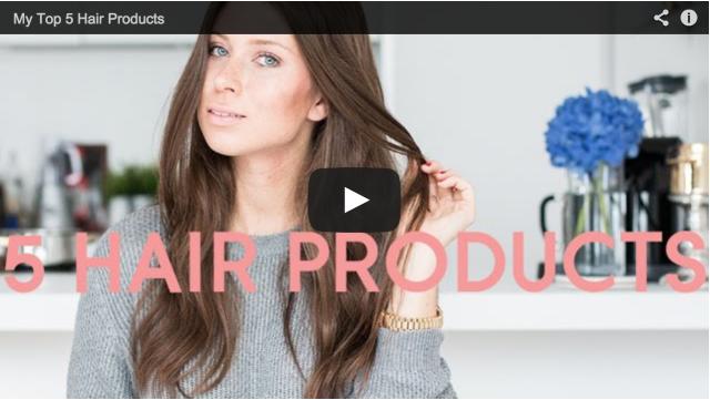 my top 5 hair products - Bikinis & Passports