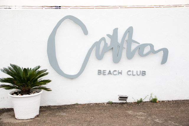 Cotton Beach Club - Cala Tarida, Ibiza | Bikinis & Passports