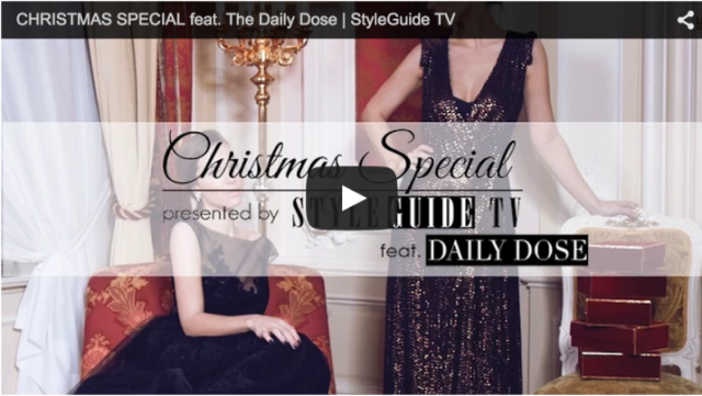 The Daily Dose Holiday Shoot with StyleGuide TV - Bikinis & Passports