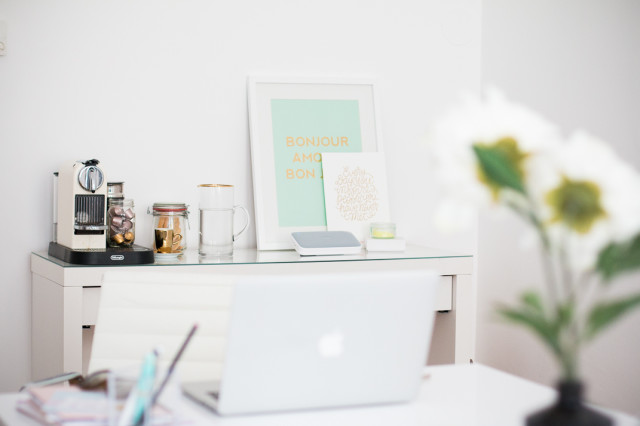 where I work: The Daily Dose office | Love Daily Dose