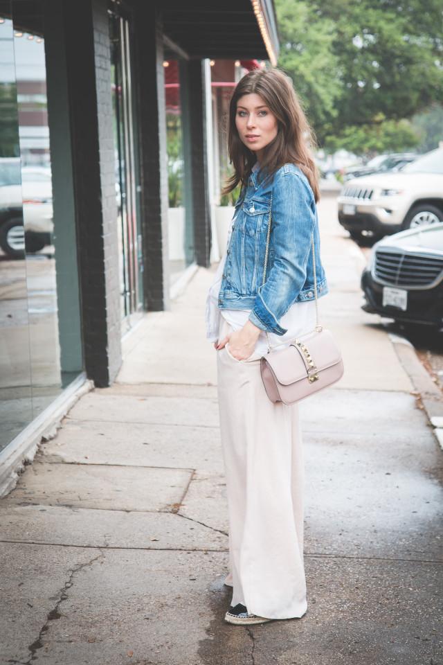 outfit: shopping on McKinney Road, Dallas | Bikinis & Passports
