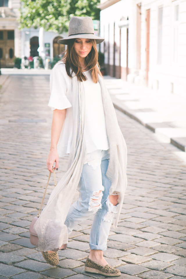 OUTFIT: ripped denim for sunny days   Bikinis & Passports
