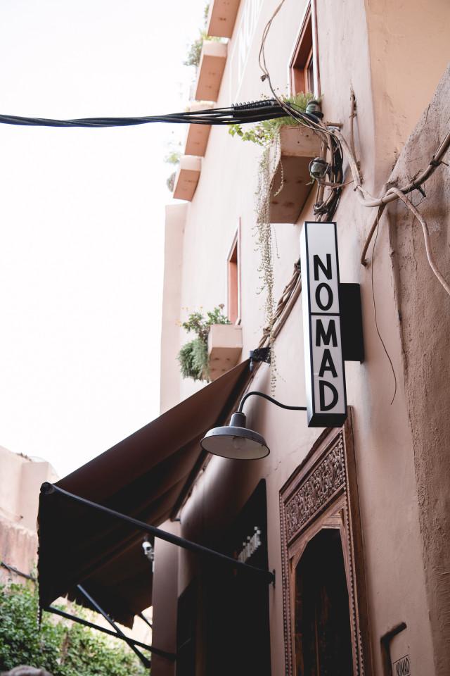 Dinner at NOMAD Marrakech   Bikinis & Passports