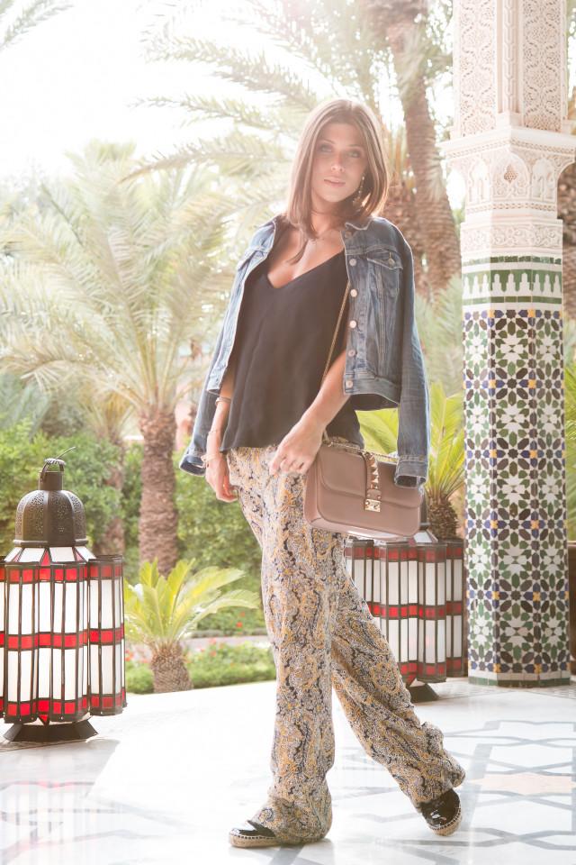 OUTFIT: palms & tiles in Marrakech | Bikinis & Passports