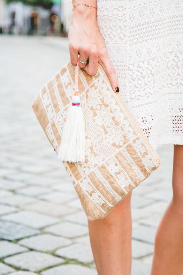 off-shoulder summer dress Topshop | Bikinis & Passports