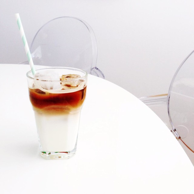 Healthy Iced Coffee Recipe | Bikinis & Passports