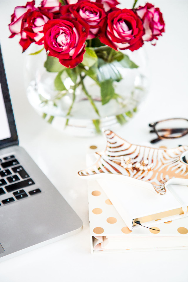 back to school - desk accessories by Kate Spade | Bikinis & Passports