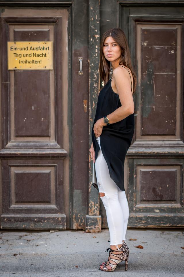 OUTFIT: silk slip dress | Bikinis & Passports