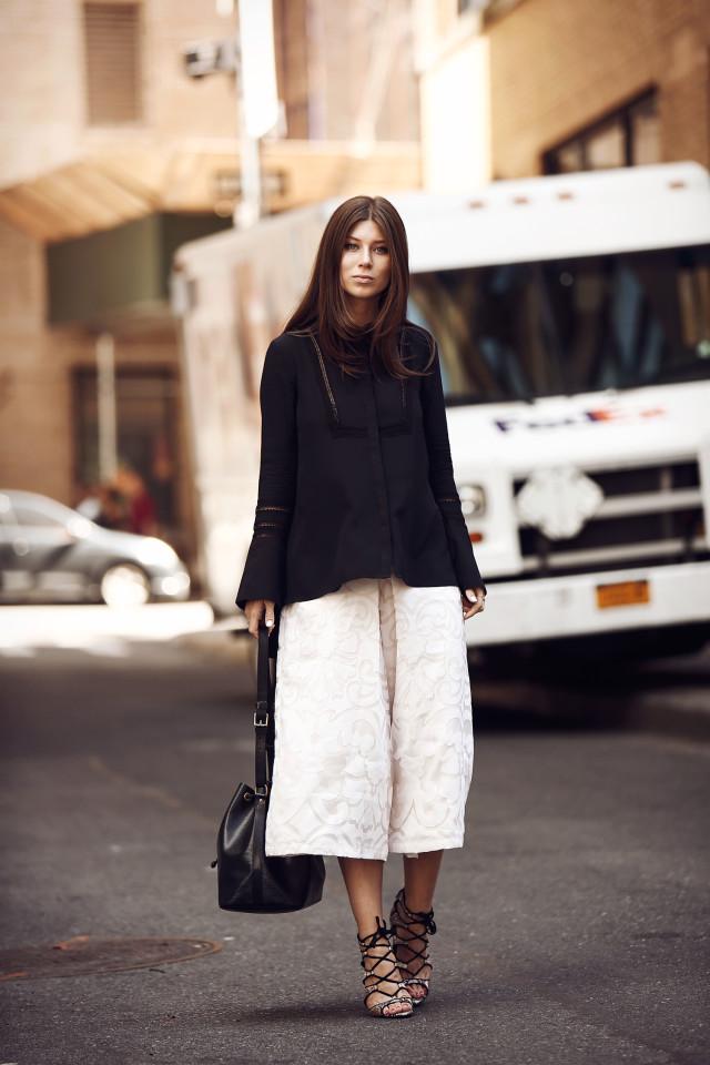 OUTFIT: NYFW ss16 day 2 wearing Rachel Zoe | Bikinis & Passports