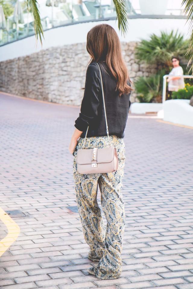 OUTFIT: paisley print pants | Bikinis & Passports