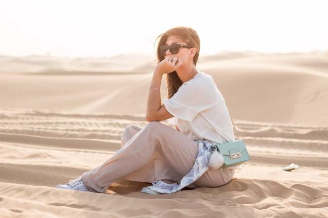 OUTFIT: Al Ain Sunset Desert Safari, Abu Dhabi | Bikinis & Passports