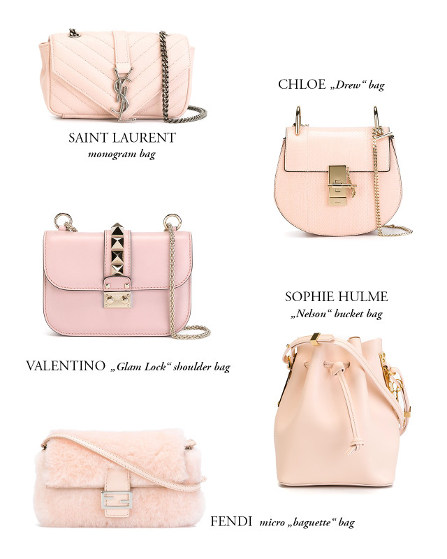 OUTFIT: my favorite powder pink bags from Farfetch | Bikinis & Passports