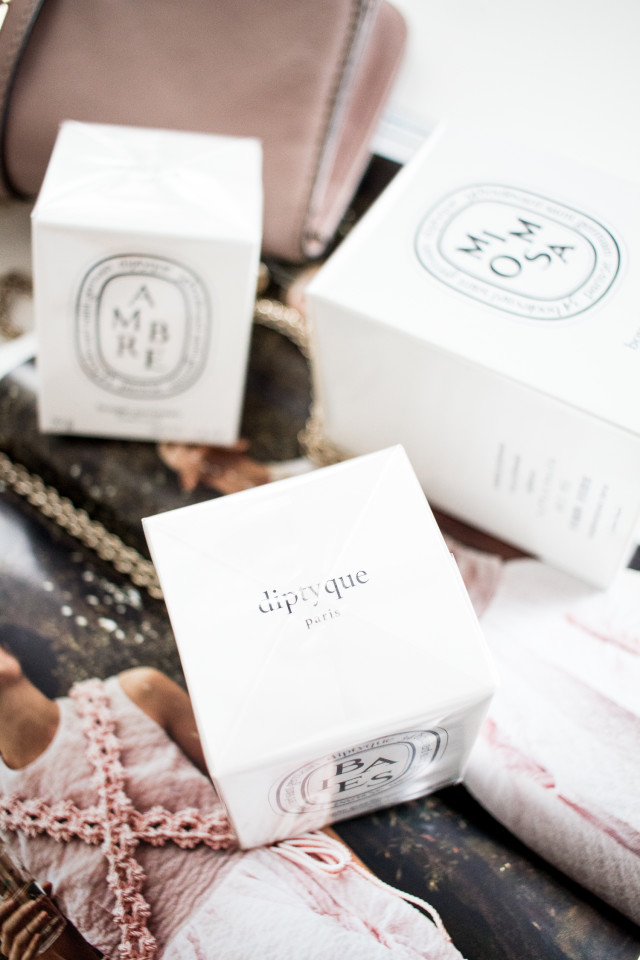 Birthday Present: Diptyque Mini Candles | Bikinis & Passports