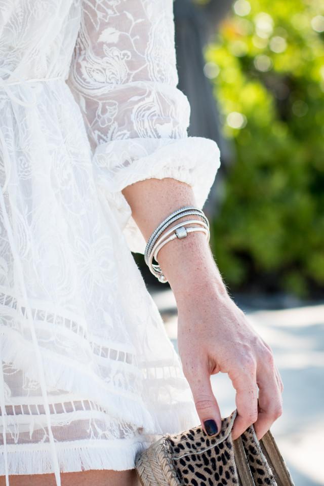 OUTFIT: Zimmermann Henna Floating Fringe Playsuit + Pandora Bracelets | Bikinis & Passports