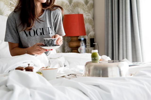 coffee in bed - #delonghicoffeemoment | Bikinis & Passports