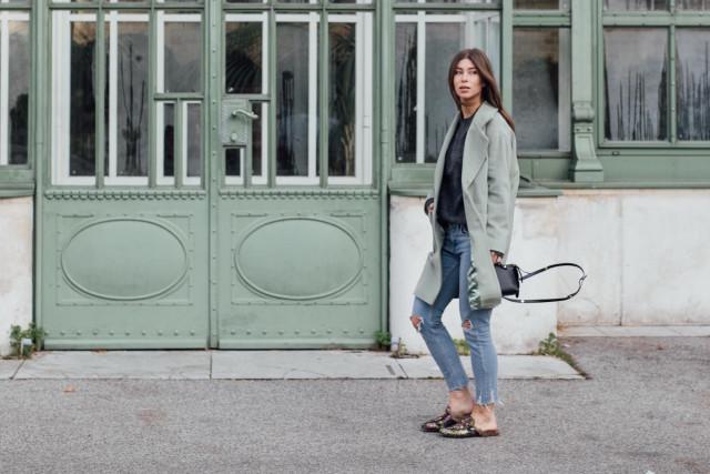 OUTFIT: Lala Berlin Joon Coat Jade | Bikinis & Passports