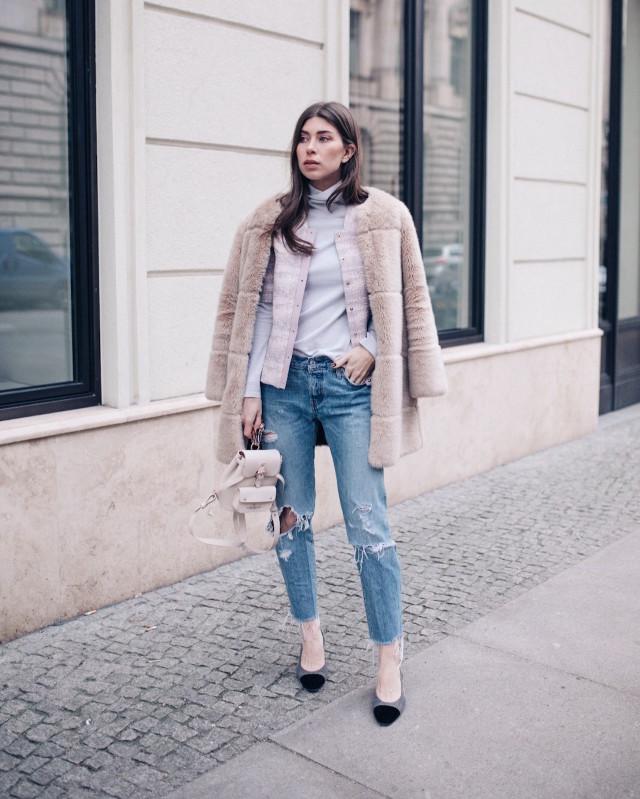 OUTFIT: Levi's 501ct + Marina Hoermanseder + Chanel Slingbacks | Bikinis & Passports