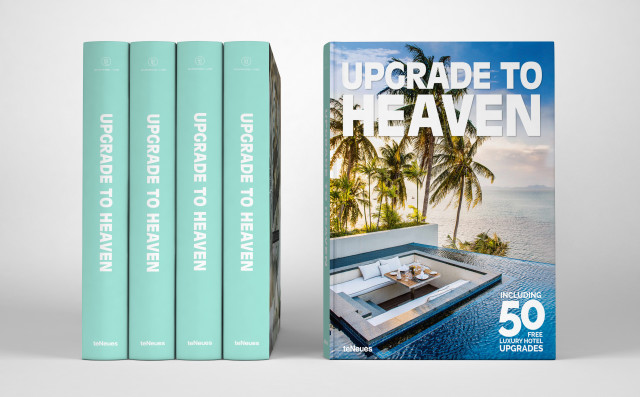 Upgrade To Heaven Coffee Table Book Bikinis Passports
