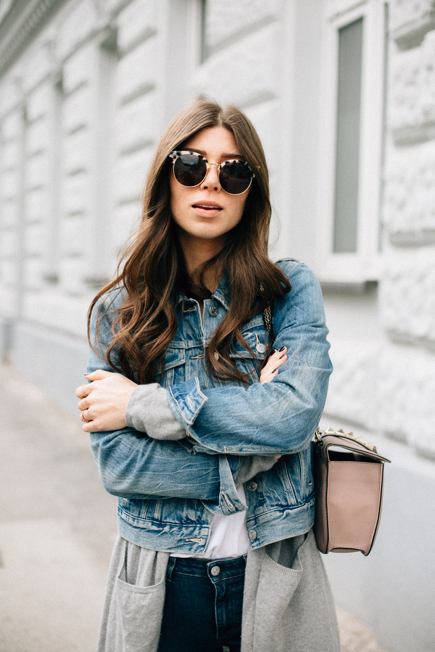 How To Wear Denim Jacket - Outfit for Spring | Bikinis & Passports