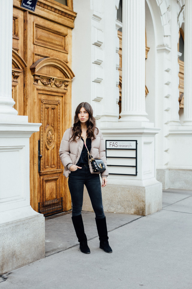 OUTFIT: Isabel Marant Cleave Boots + padded bomber jacket | Bikinis & Passports