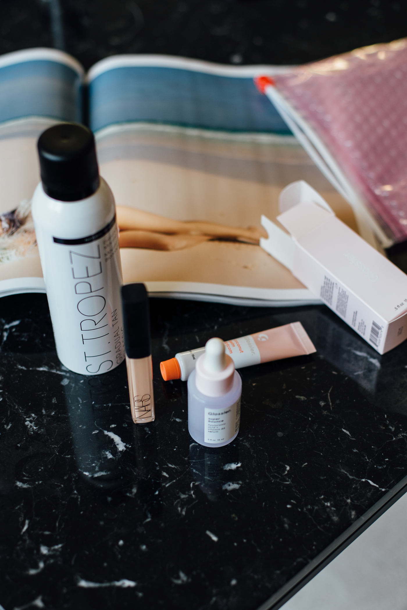 NYC Beauty Buys: Sephora & Glossier Showroom | Bikinis & Passports