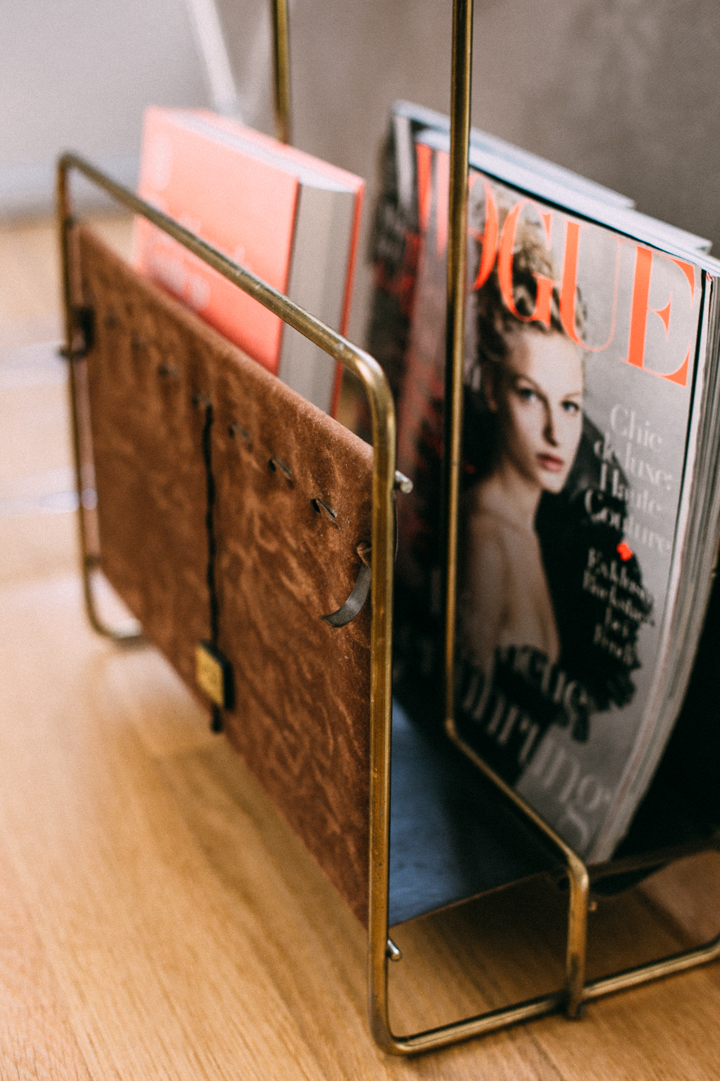 FOR THE HOME: Etsy Vintage Magazine Rack | Bikinis & Passports