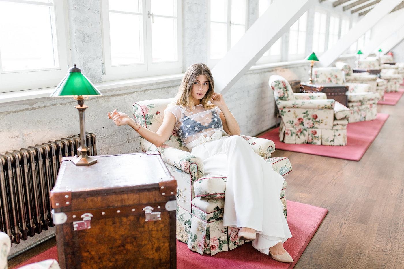 Lena Hoschek High Tide Pants | Bikinis & Passports