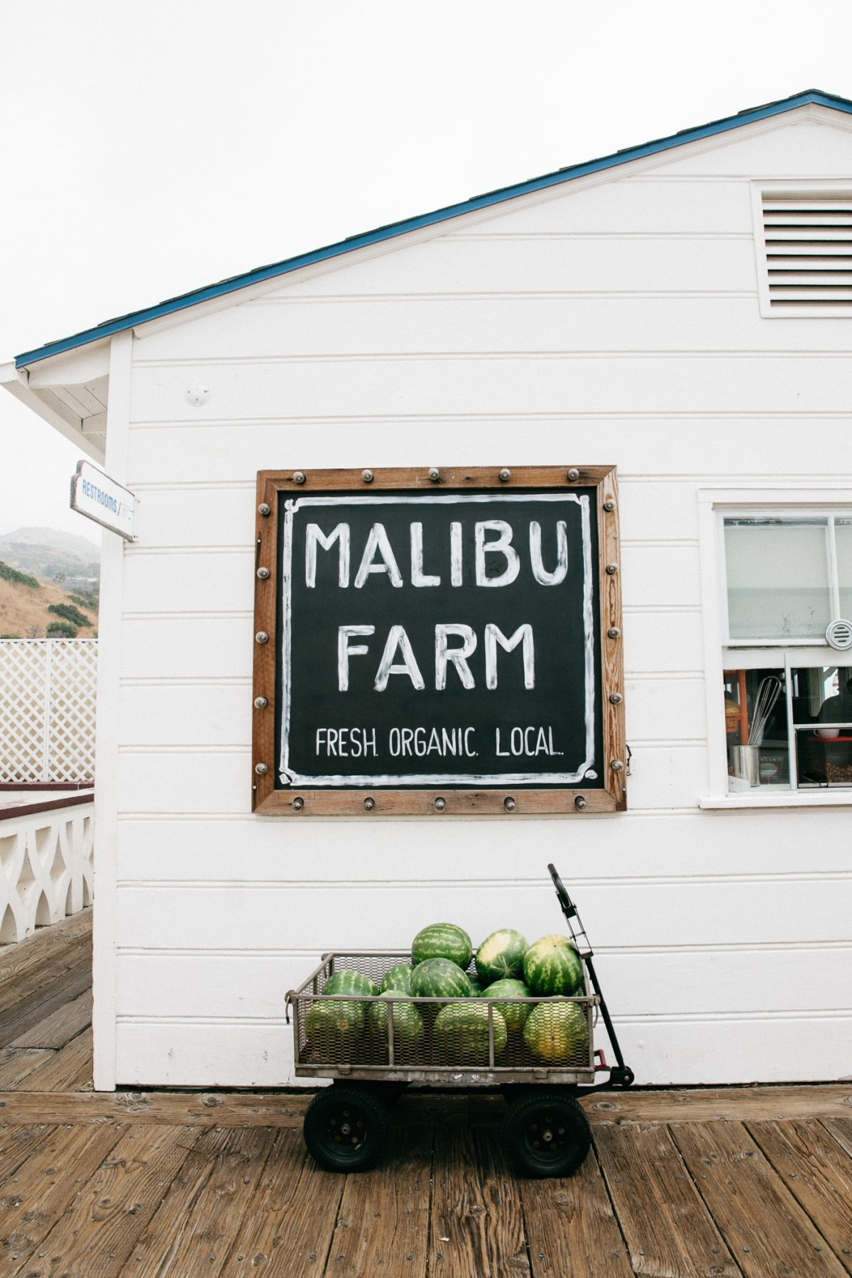 Malibu Farm, Breakfast at the Malibu Pier | Bikinis & Passports